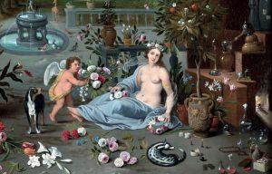 Jan Brueghel il Giovane. Allegoria dell'olfatto